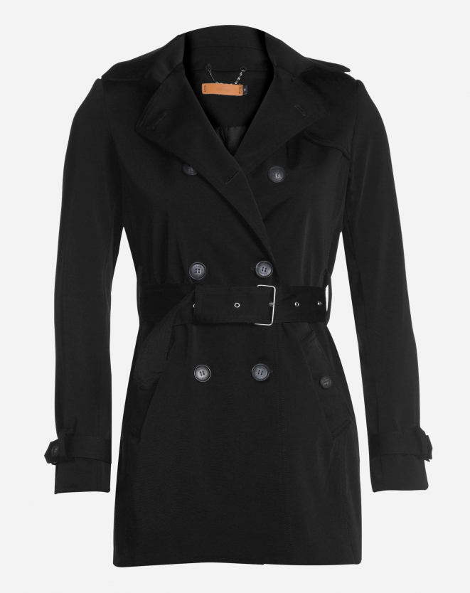 TRENCH COAT LONDON BREEZE PRETO