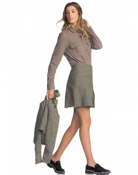 SAIA TWEED PLAID