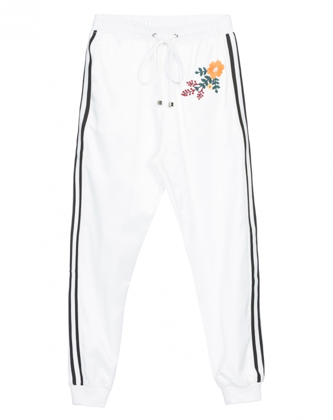 CALÇA JOGGING FUNNY OFF-WHITE