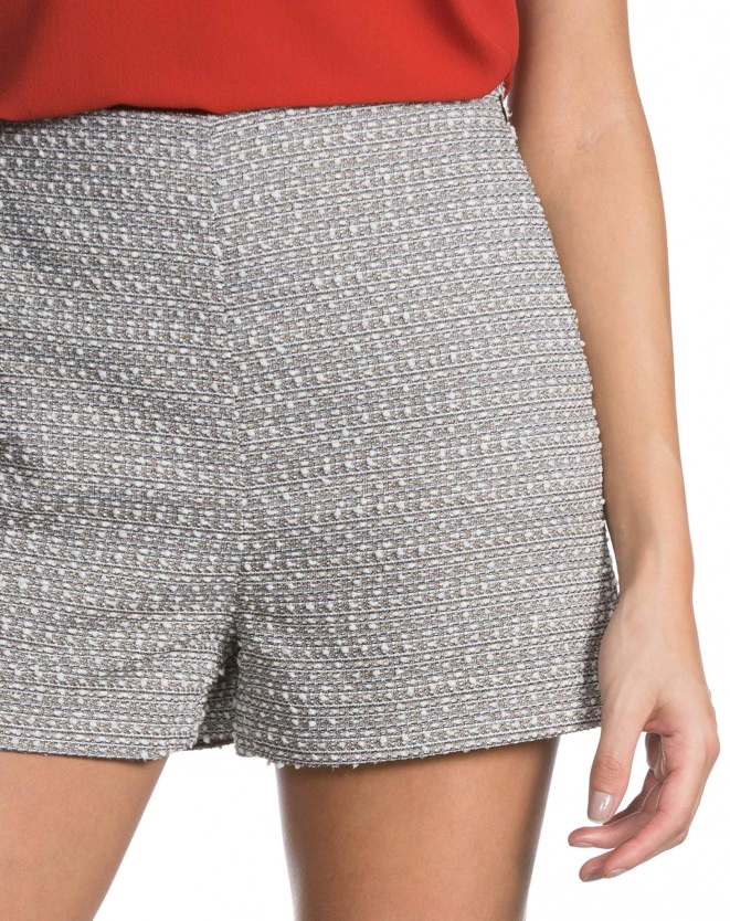 SHORTS CURTO TWEED