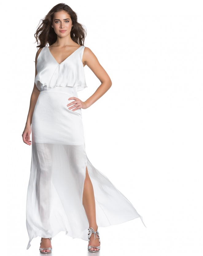 VESTIDO LONGO BREEZE OFF-WHITE