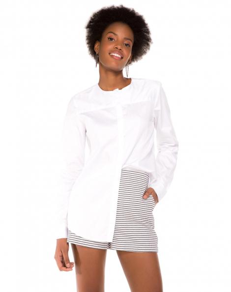 Amaro Feminino Camisa Kate Essential, Branco