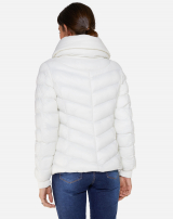 JAQUETA NYLON PUFF OFF-WHITE