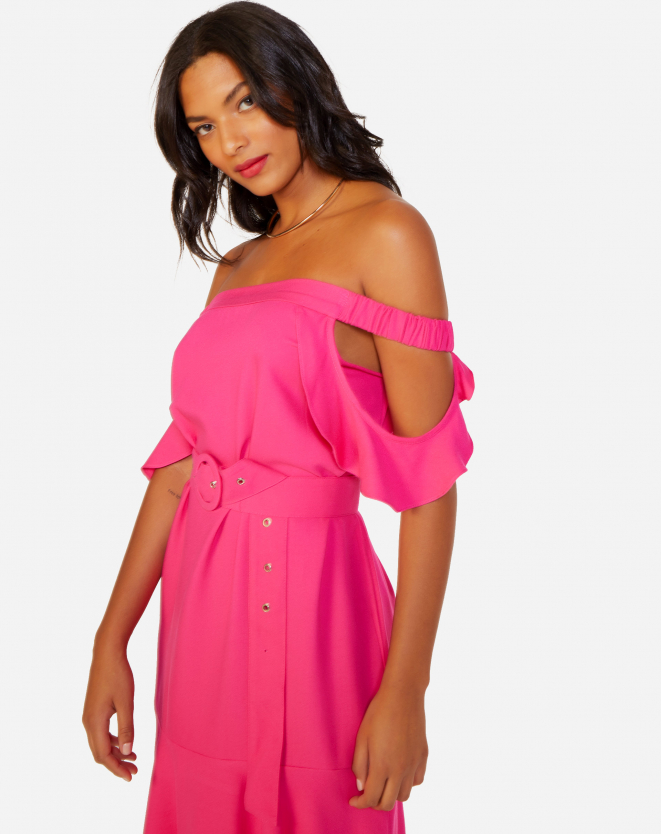 Vestido Pink Amaro