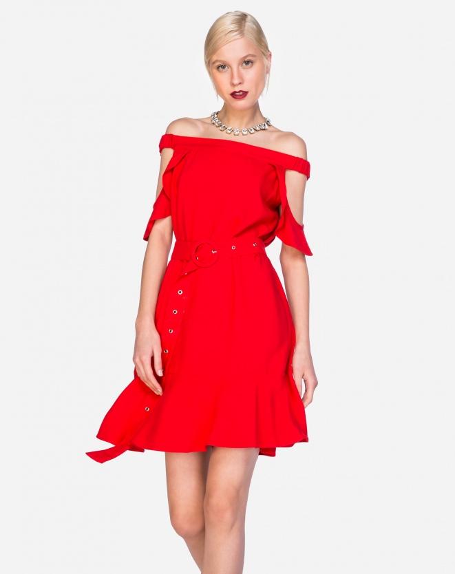 Vestido Vermelho Amaro