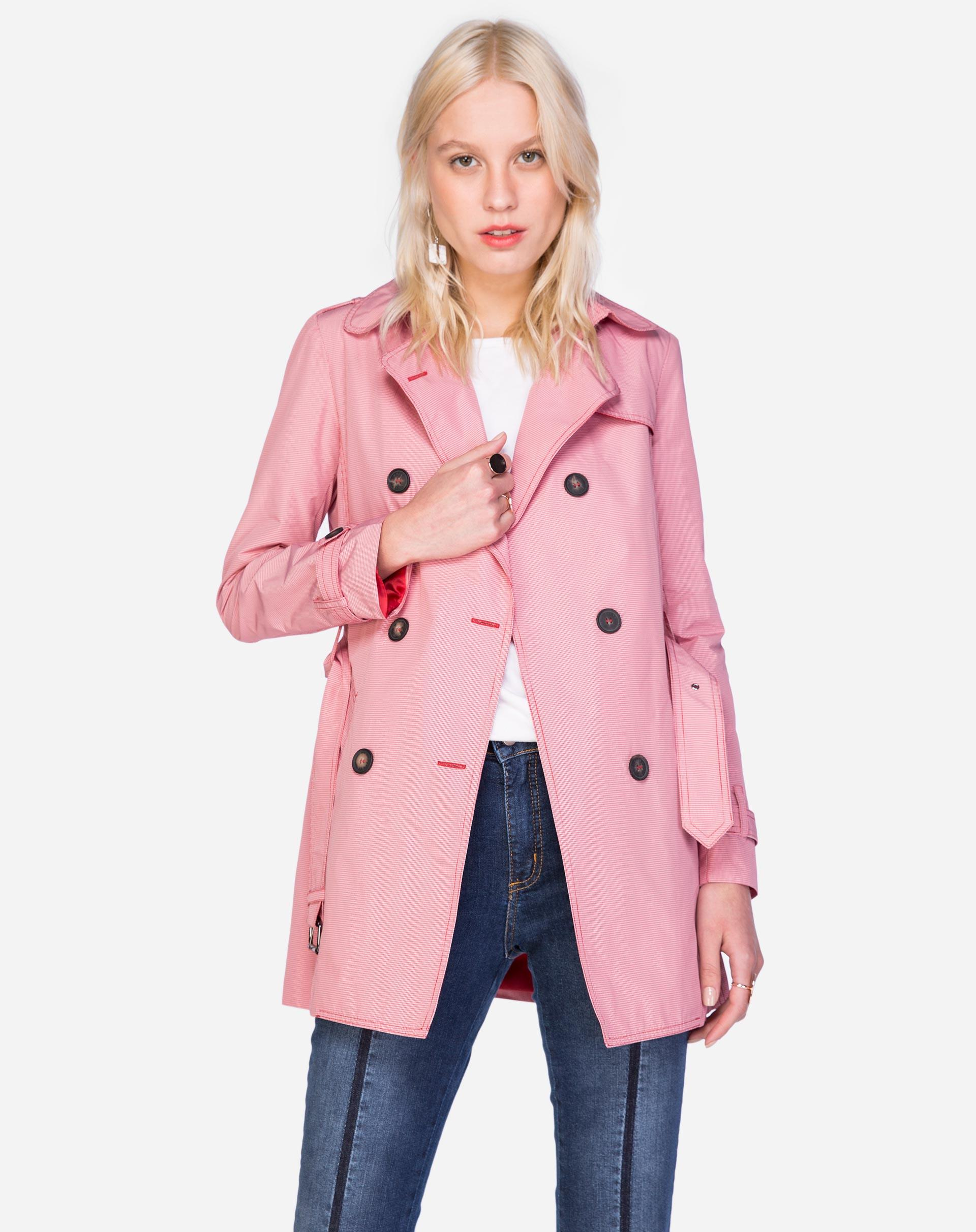 Trench Coat Xadrez Vichy