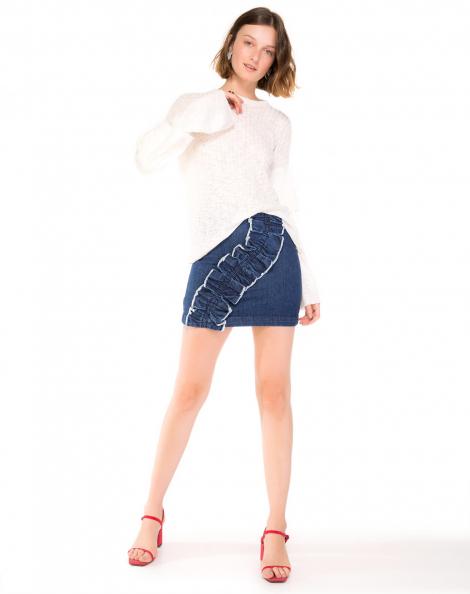 saia-jeans-curta-com-babado