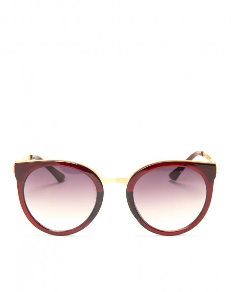 Amaro Feminino Óculos De Sol Gatinho Classic, Vermelho
