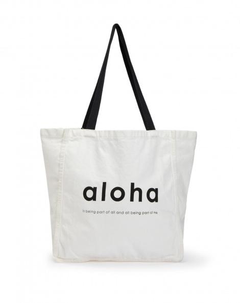 Amaro Feminino Bolsa De Praia Aloha, Branco