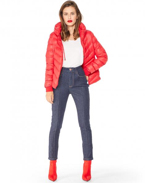 Amaro Feminino Calça Jeans Skinny Ecológica, Azul